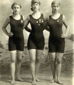 old-fashioned swimwear